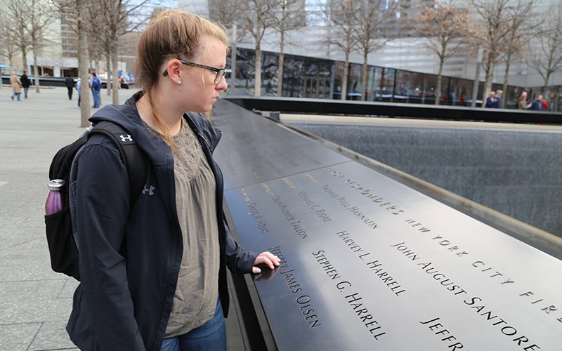 911 Memorial Honors Program at WPU - Testing for Immersiver Learning