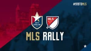 919 to mls rally 300x169 - #OurRaleigh Working to Bring MLS Franchise and Stadium to Downtown, Adjacent to WPU Campus