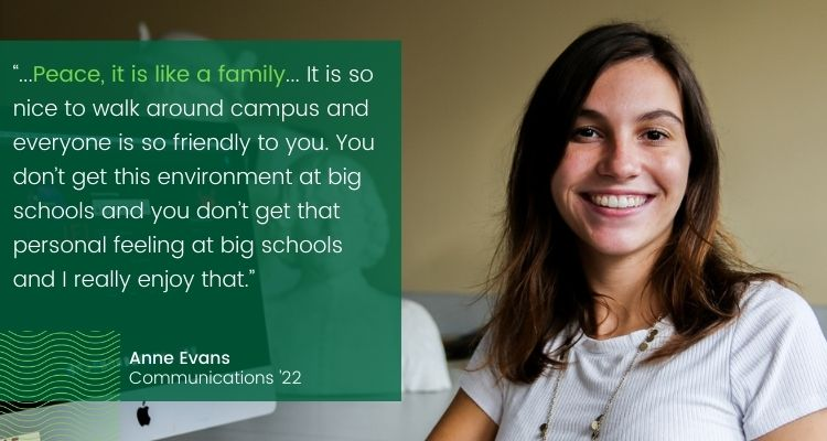Anne Evans Blog Quote - Not Just a Number: Communications Major Anne Evans on Why WPU