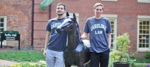 WPU alums head off to UNC Law School
