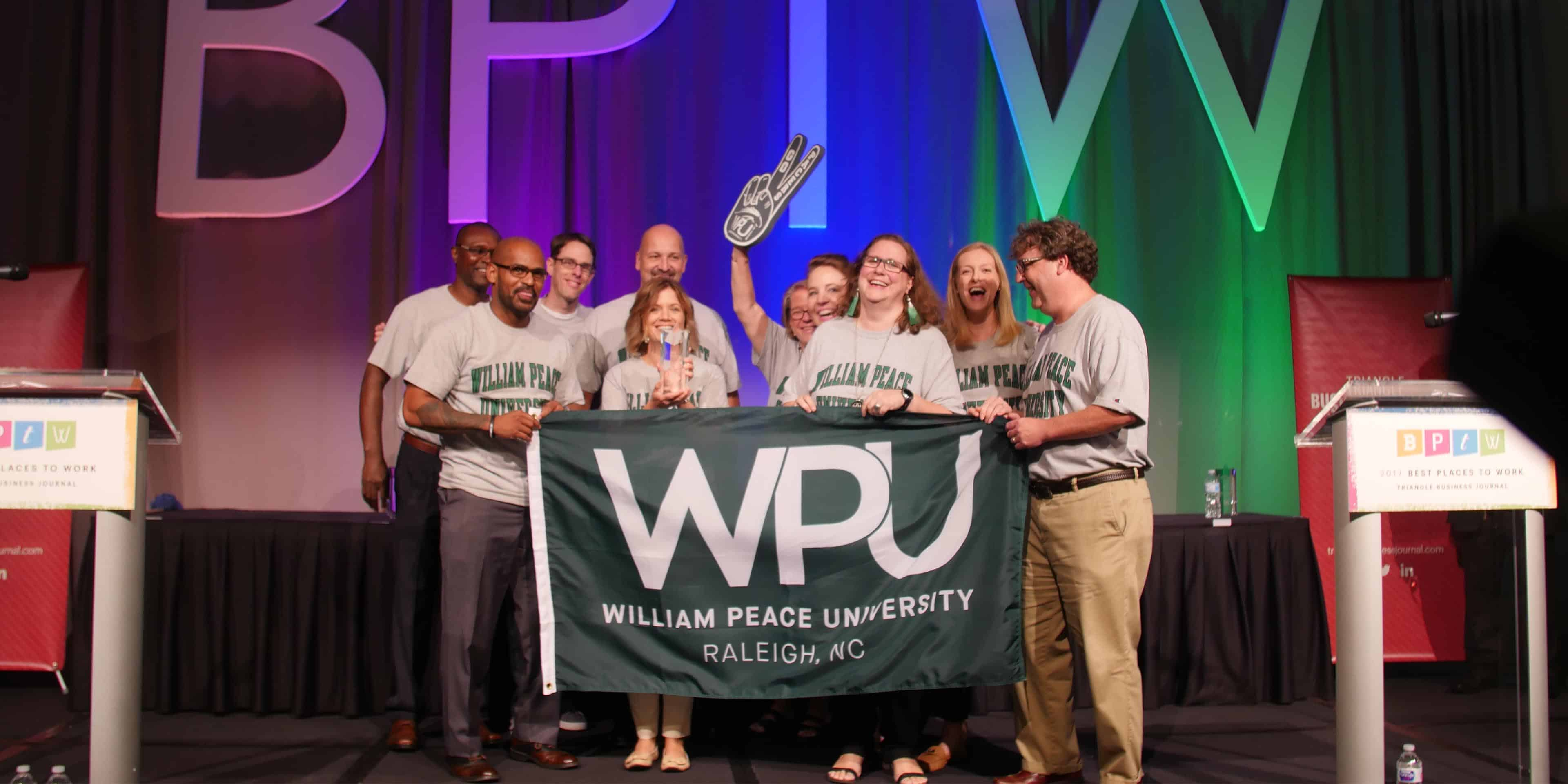 WPU is a Best Place to Work