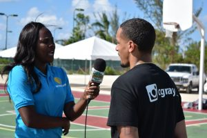Chrisitan Gray Reporter 300x200 - #PrepareAtPeace: Alum Christian Gray on Training NBA Athletes & Mentoring Young Leaders