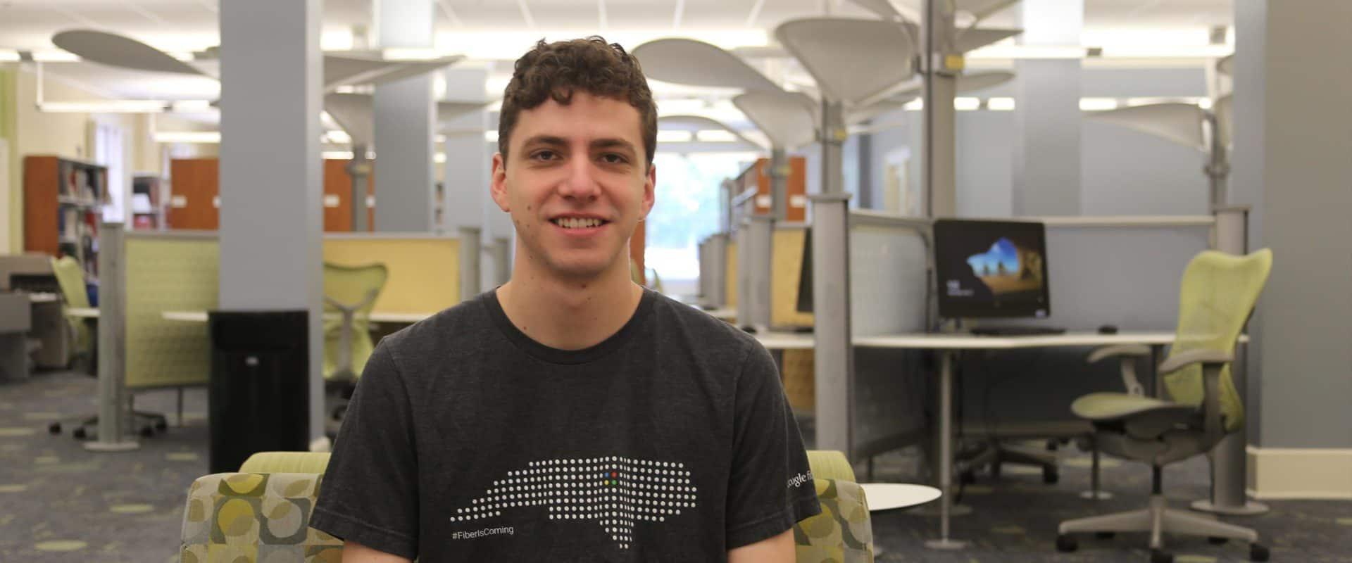 WPU Student, Coleman Arehart