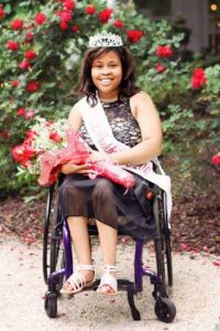 Deja 1 200x300 - #PrepareAtPeace: WPU Alumna Deja Barber Crowned Ms. Wheelchair North Carolina