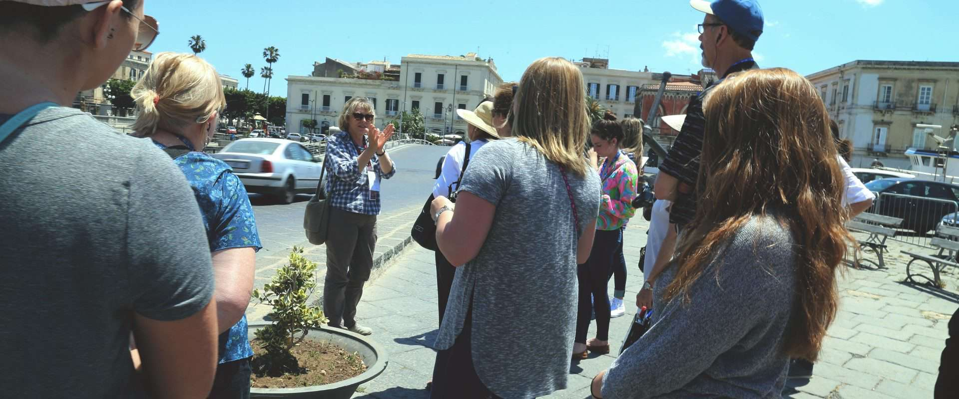WPU Students studying abroad in Italy.