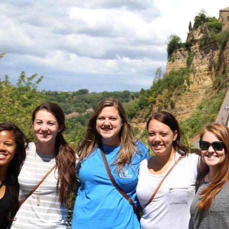 WPU students traveling and studying abroad.