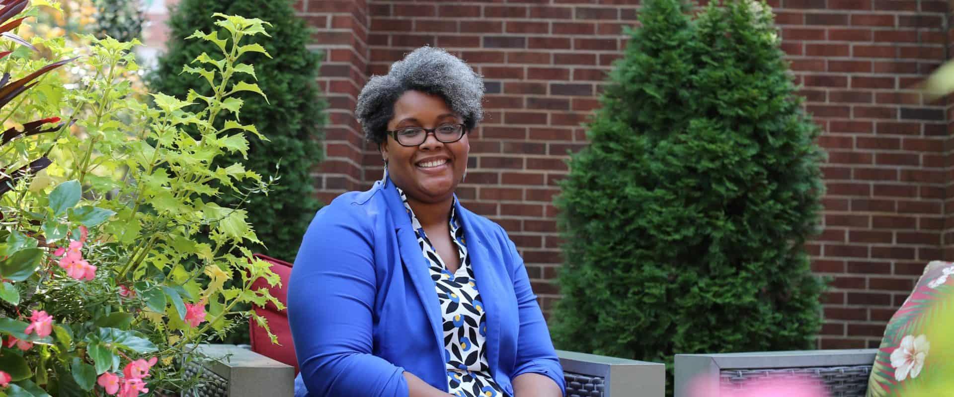 WPU Faculty member, Janelle Jennings-Alexander