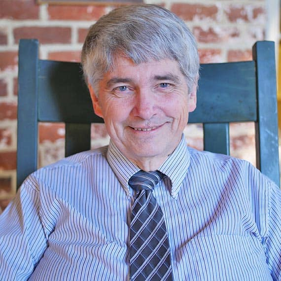Dr. Lee Carter, WPU professor and Reverend.