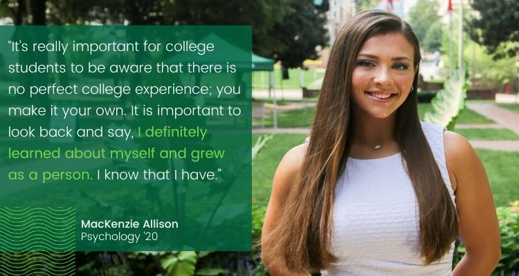 MacKenzie Allison Blog Quote - Not Just a Number: Psychology Major MacKenzie Allison on Why WPU