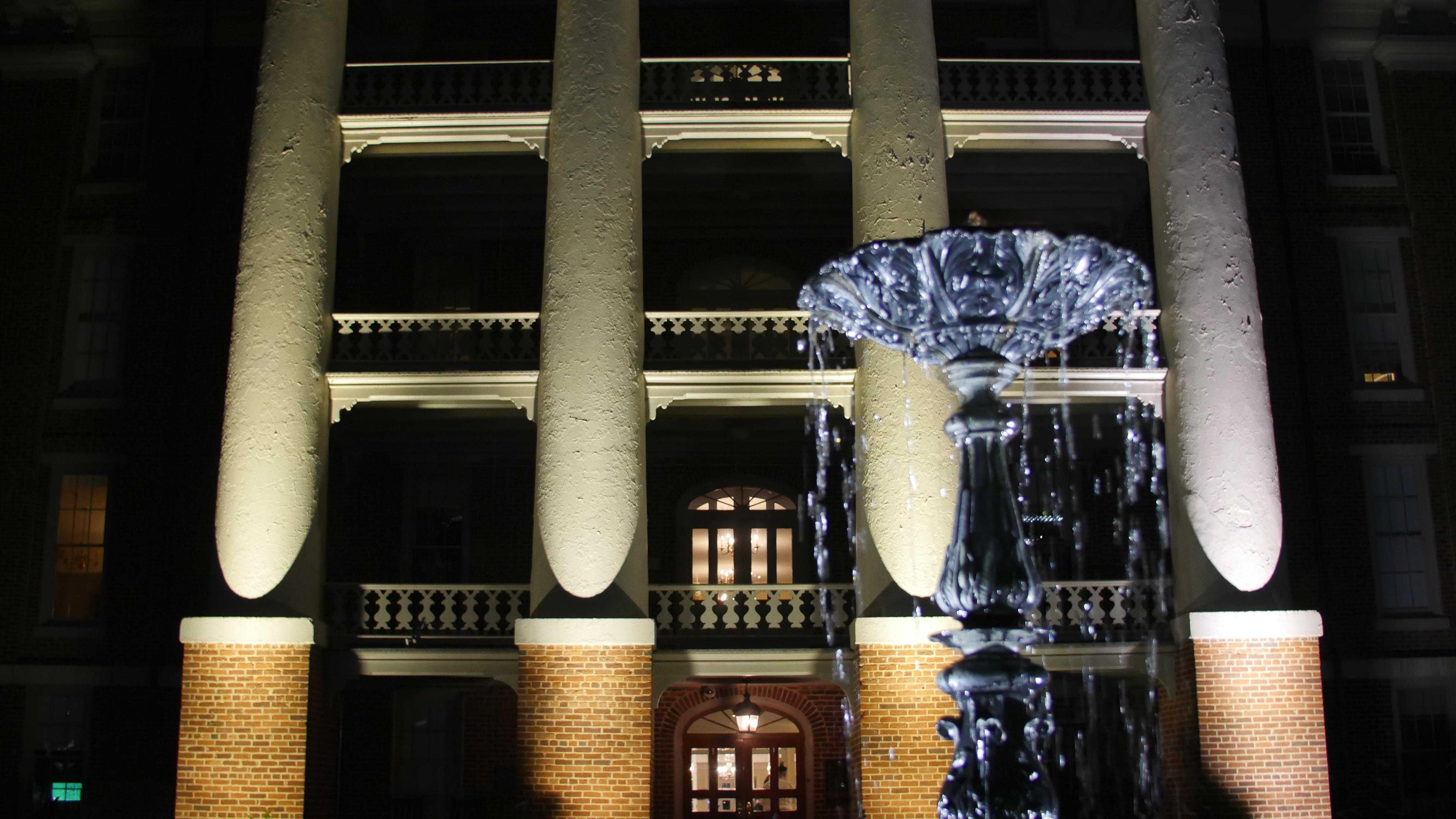 Main building at Night
