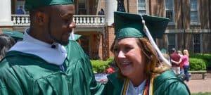 Mama Sherri graduates after nearly 40 years