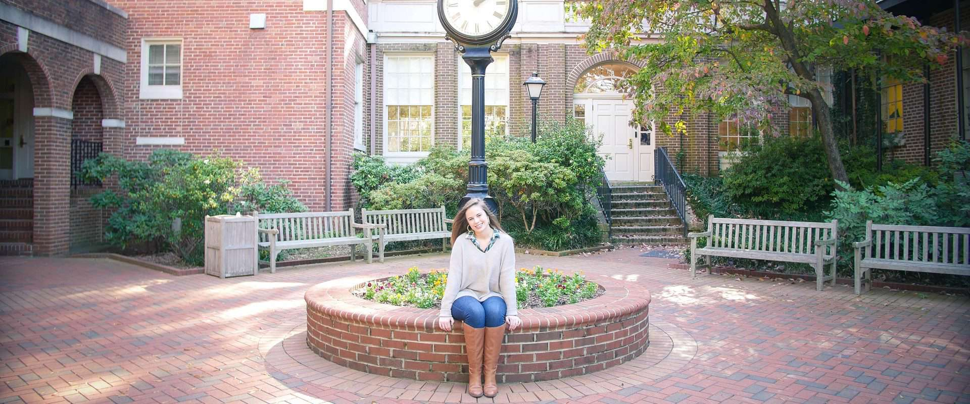Mary Todd Earnhardt '20 is the 2017 recipient of the First Presbyterian Scholarship
