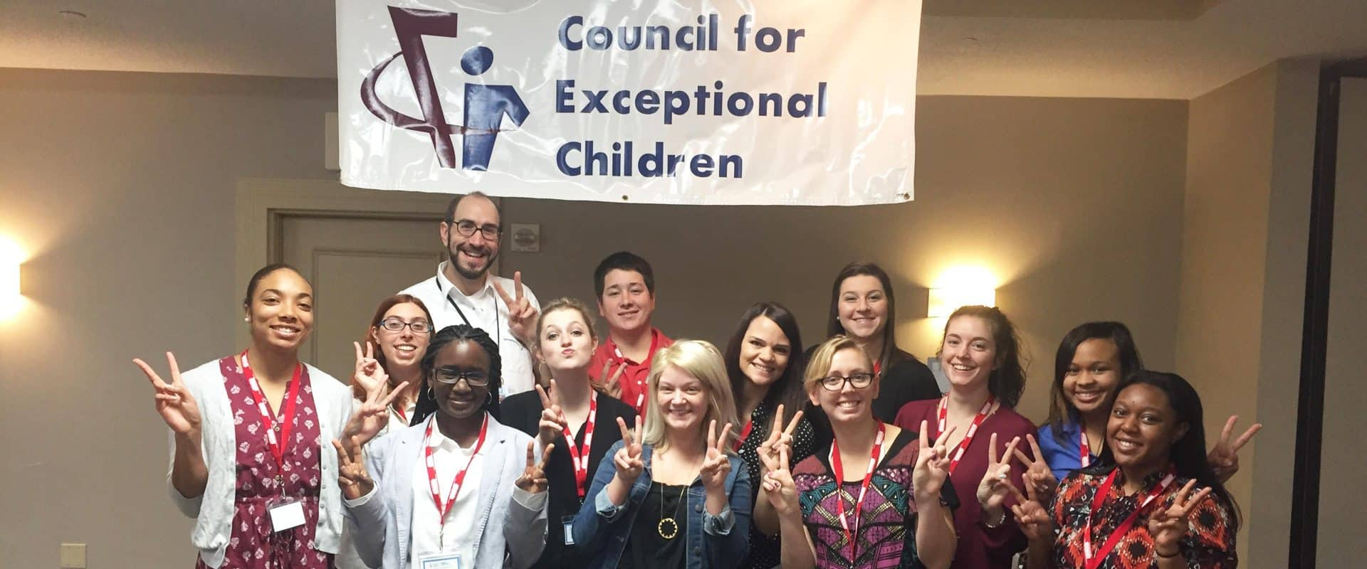 WPU Education Students Participate in North Carolina Council for Exceptional Children Annual Conference in Wilmington, NC