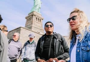 NYC News Insert 300x207 - #PrepareAtPeace | Students Explore Immigrant Roots in Whirlwind Journey to NYC