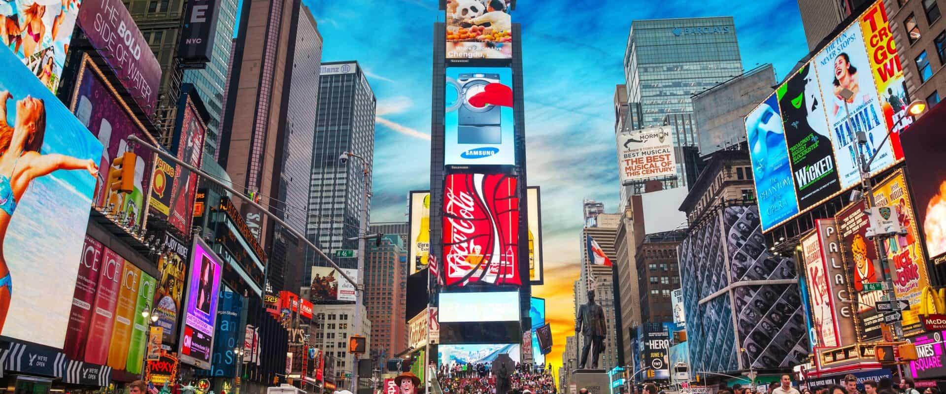 WPU Theatre students visit New York City.