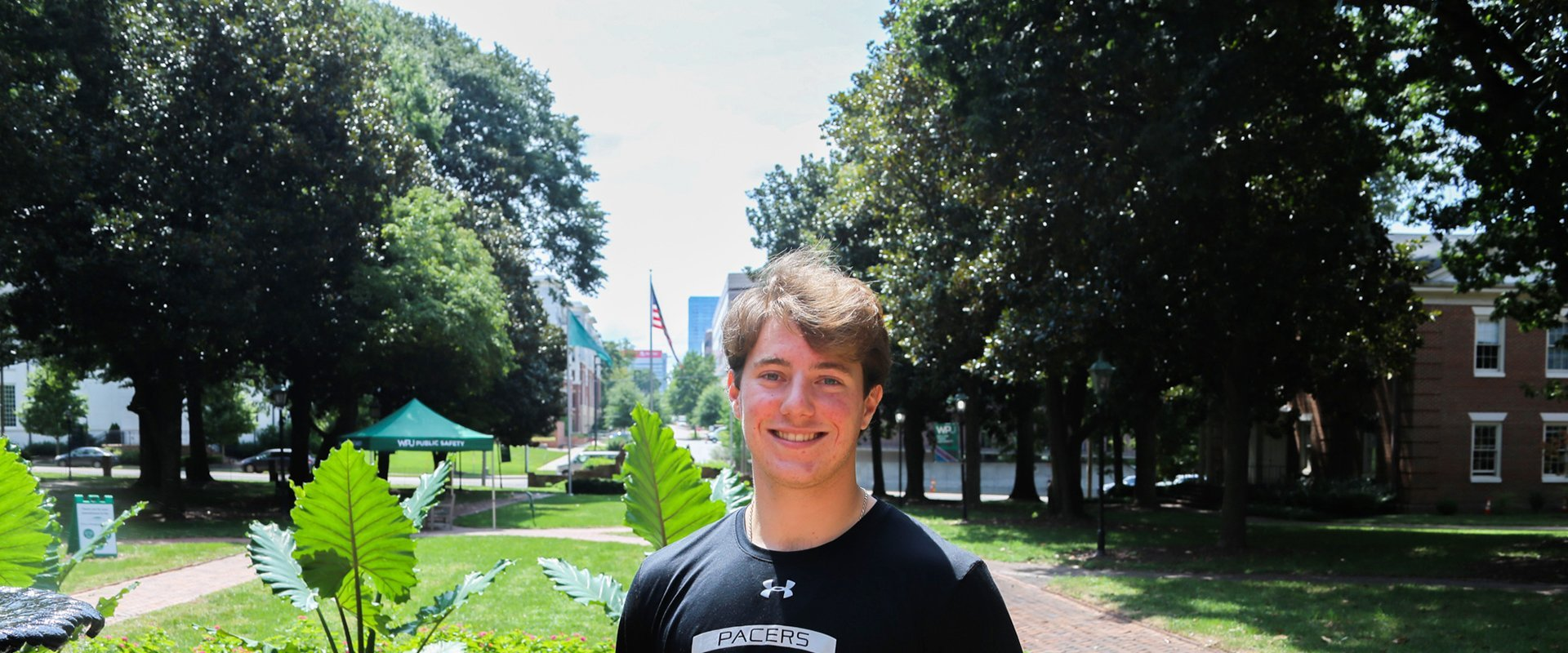Nick Falso is an Environmental Science student at William Peace University - Meet Ryan Killilea, Admissions Recruiter