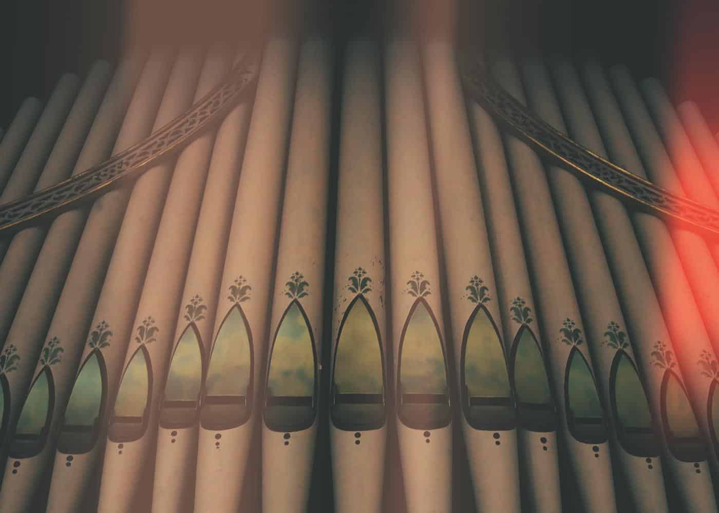Organ Wide Vintage - Weddings