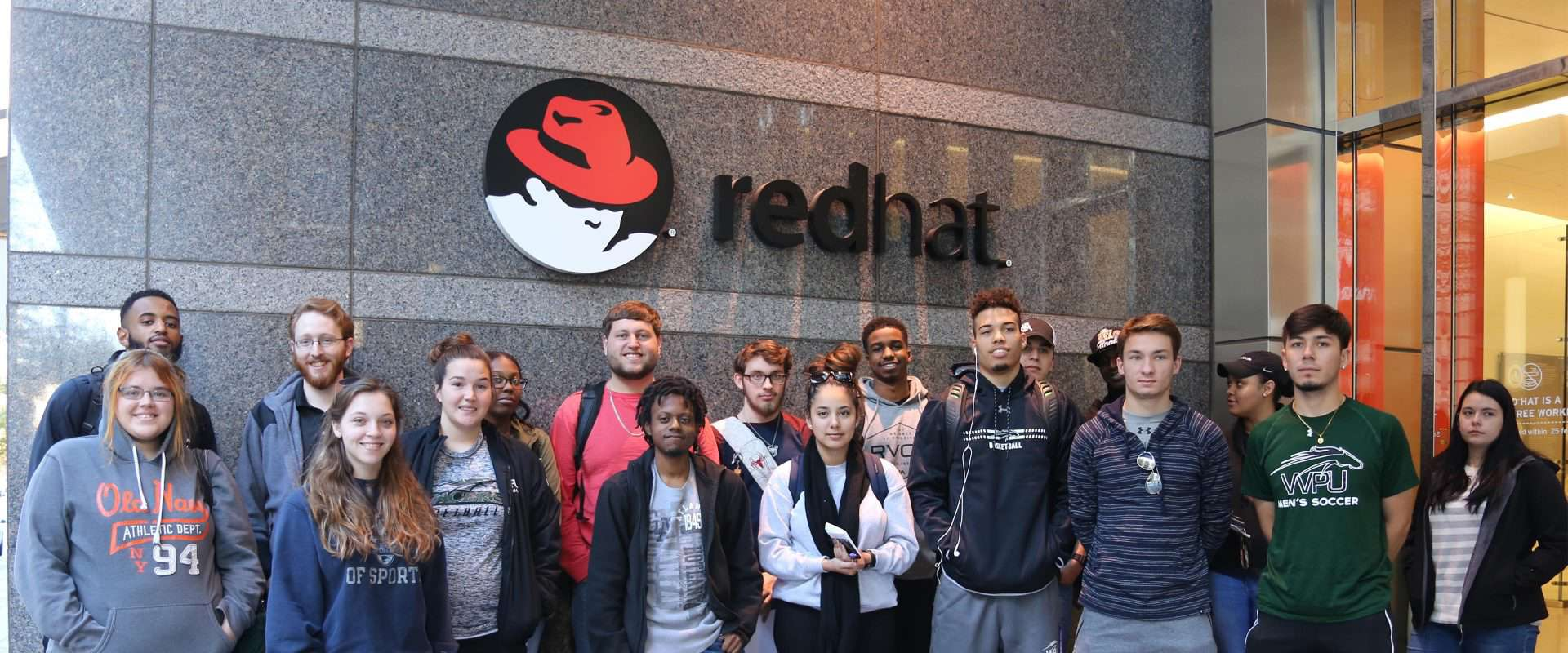WPU Students visit nearby Red Hat.