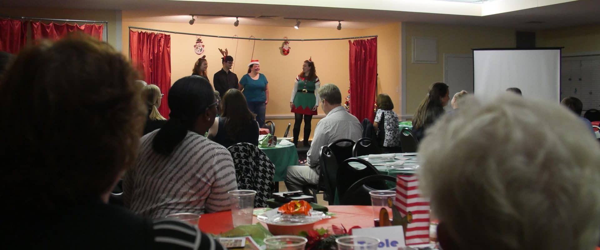 WPU Students performing for Special Blessings charity.