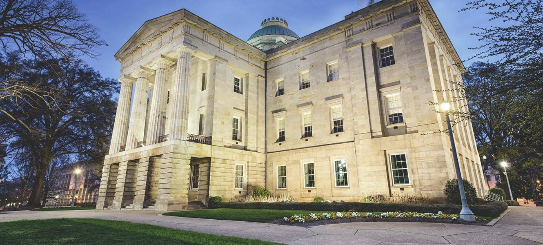 North Carolina State Capitol Building.