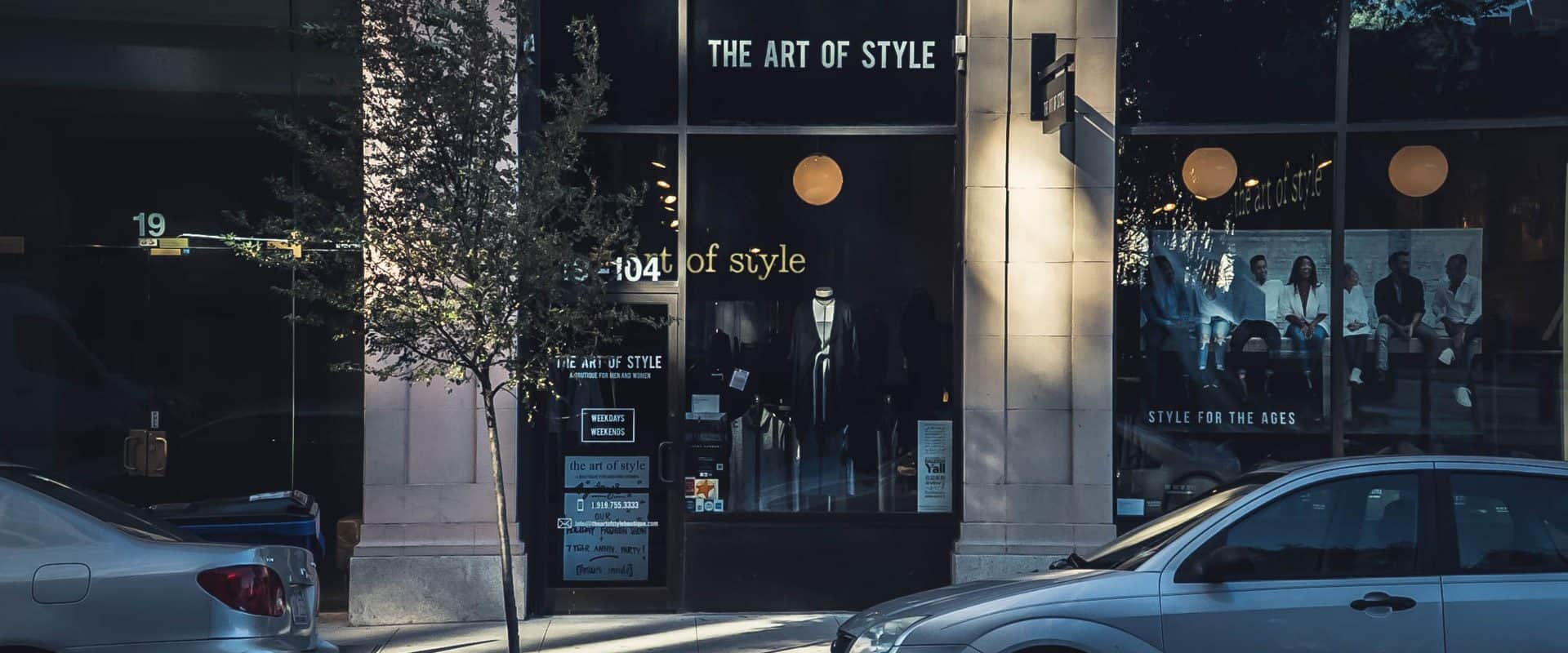 Art of Style is boutique retail store in downtown Raleigh