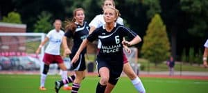 Girls Athletics Soccer Player