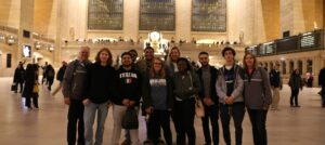 WPU students immersive learning in NYC