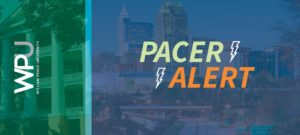 This is a PACER ALERT